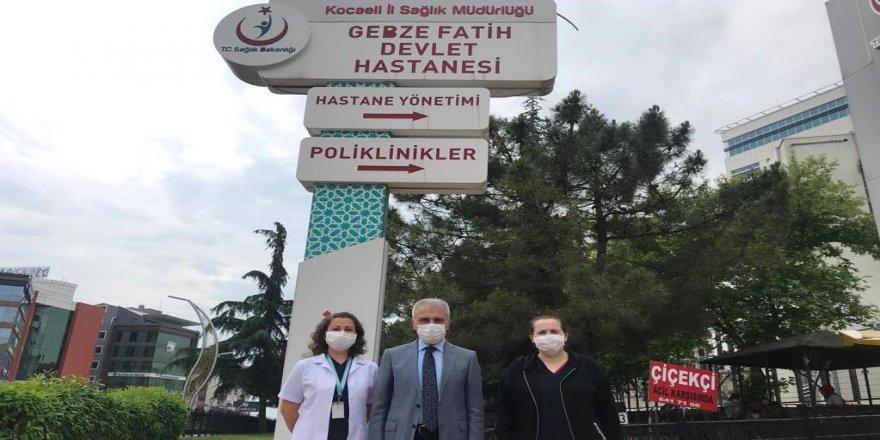 TÜRK SAĞLIK SEN HEYETİ BAŞHEKİM NALBANT'I ZİYARET ETTİ.