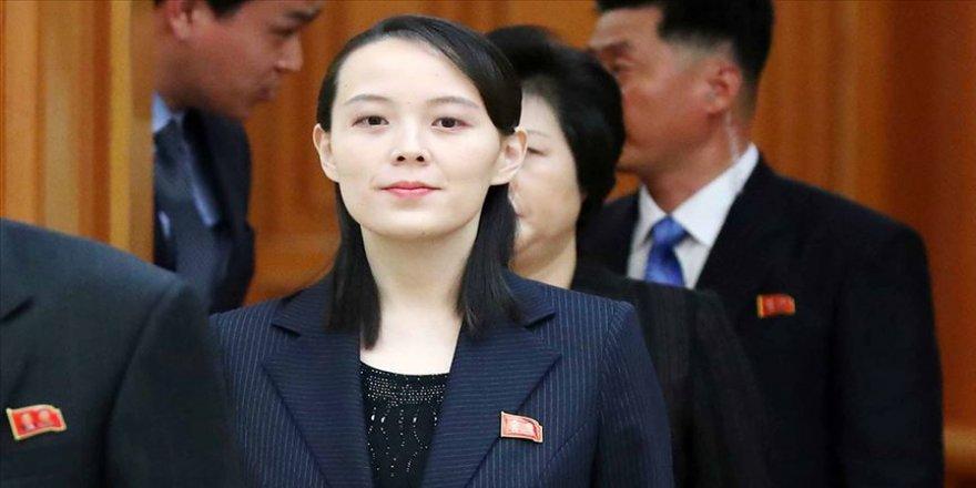 Kuzey Kore liderinin kız kardeşi Güney Kore'yi tehdit etti