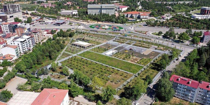 Şehitler anısına yaptırılan Millet Bahçesi tamamlandı