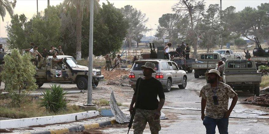 Libya ordusu Trablus'un idari sınırlarında kontrolü sağladı