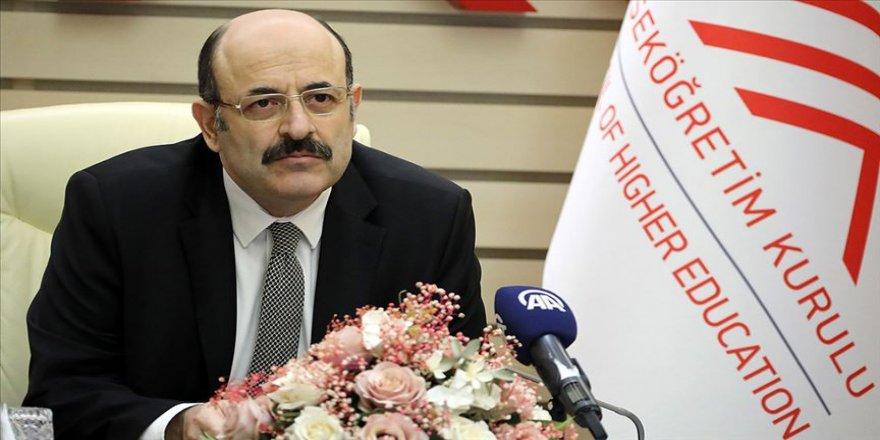 YÖK Başkanı Saraç: Yükseköğretimde uzaktan öğretimle verilebilecek ders oranı yüzde 40'a çıkarıldı