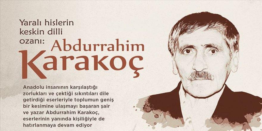 Yaralı hislerin keskin dilli ozanı: Abdurrahim Karakoç