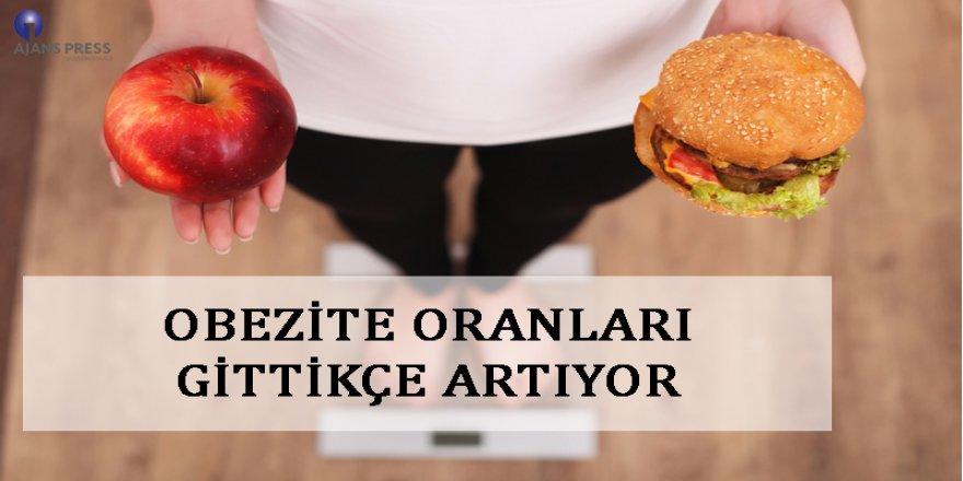 Obezite Oranları Gittikçe Artıyor