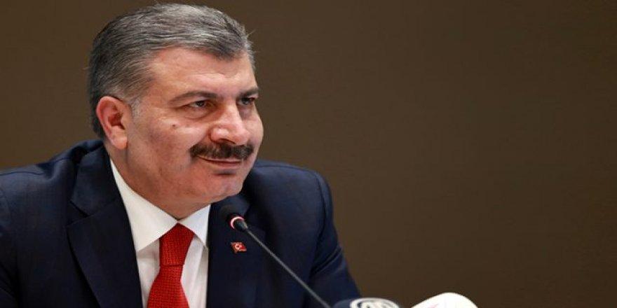 Sağlık Bakanı Fahrettin Koca,Dün Yatan Hasta Sayısını Açıkladı