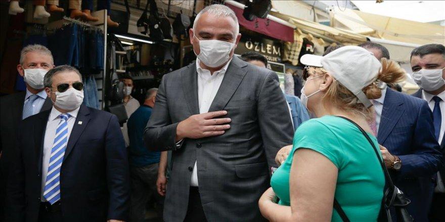 """Kültür ve Turizm Bakanı Ersoy'dan """"Kemeraltı ve Agora"""" açıklaması"""
