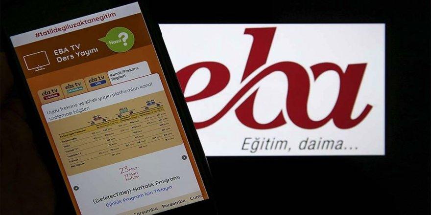 MEB'in dijital eğitim platformu EBA 7/24 öğrencilerin kullanımına açıldı