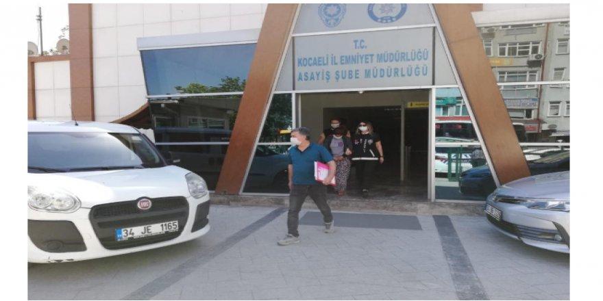 Kocaeli'de evden hırsızlık yapan şahıs İstanbul'da yakalandı
