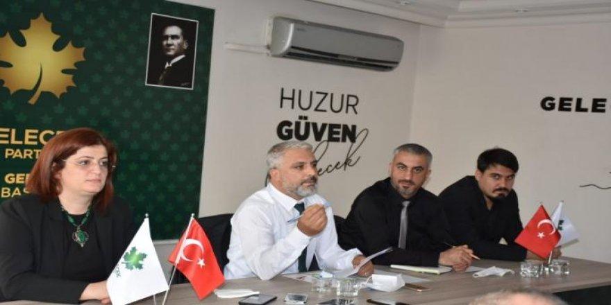 Müslüm Osmanoğlu,kendi parti amblemimizin altında seçime gireceğiz