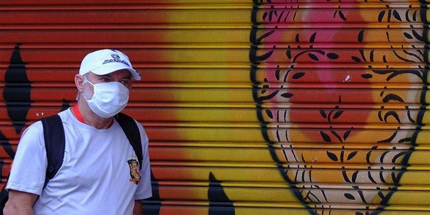 Brezilya'da son 24 saatte Kovid-19 nedeniyle 1282 kişi öldü