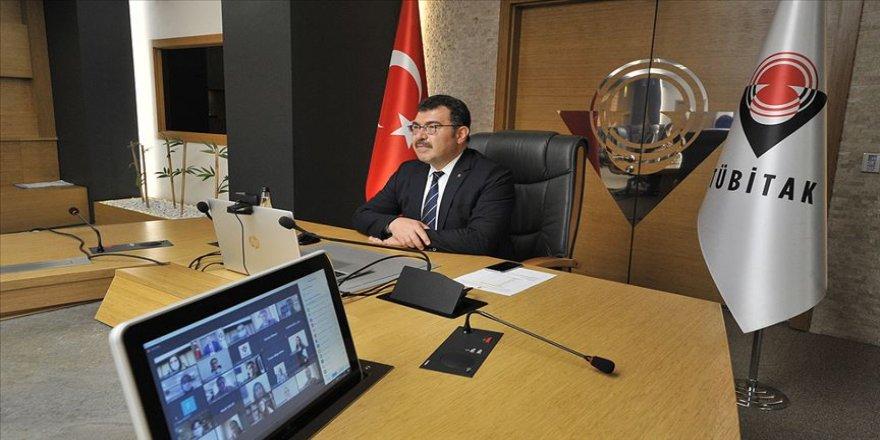 TÜBİTAK Başkanı Mandal,STAR bursiyerleriyle sanal toplantıda buluştu
