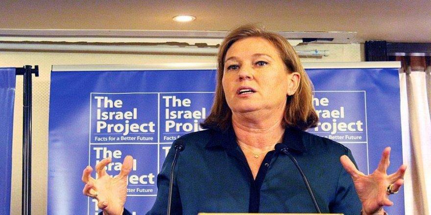 Filistin Halk Kurtuluş Cephesinden, eski İsrailli Bakan Livni'ye ödül verilmesine tepki