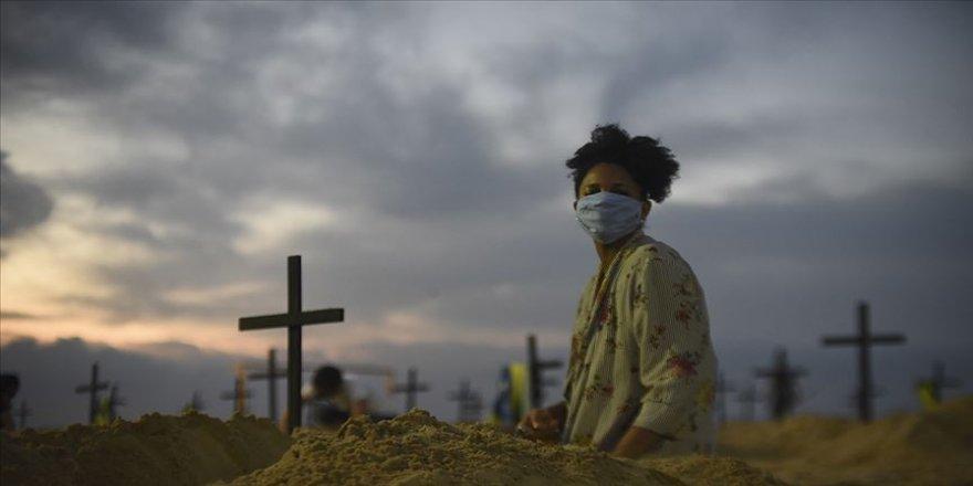 Brezilya'da son 24 saatte Kovid-19 nedeniyle 1238 kişi hayatını kaybetti