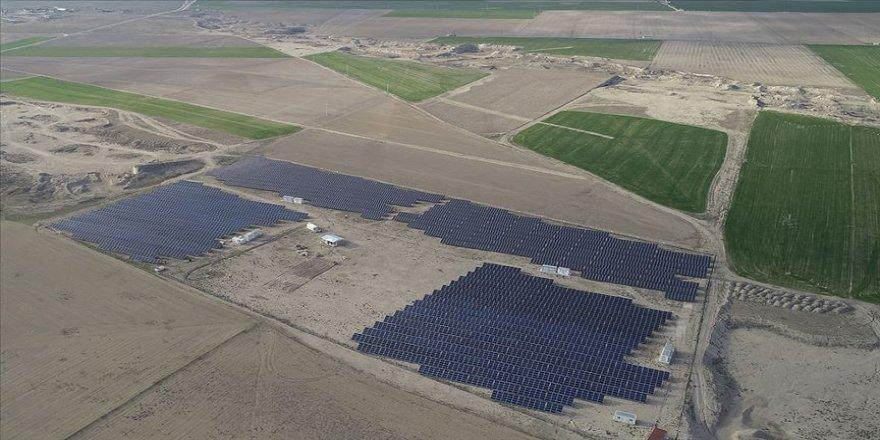Türkiye'nin en büyük güneş enerjisi santralinde panel montajı temmuzda