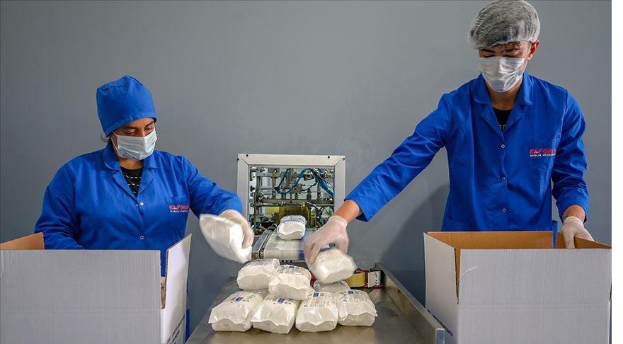 Van'da üretilen tıbbi cihaz ve dezenfektan ürünleri yurt dışına gönderiliyor