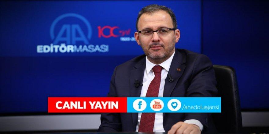 Bakan Kasapoğlu: Yayıncı kuruluş bugün kulüplere 103 milyon lira ödeme yapacak