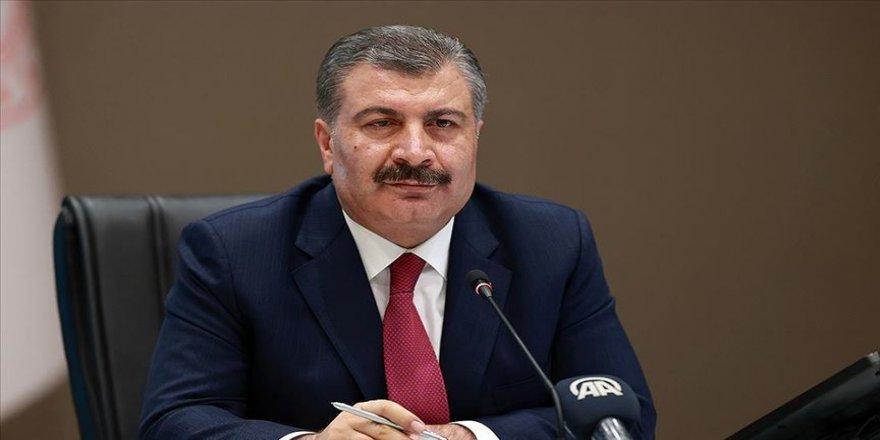 Sağlık Bakanı Koca'dan LGS paylaşımı