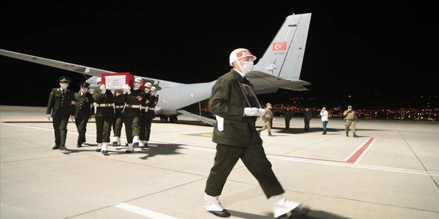 Şehit Uzman Onbaşı Ömer Kahya'nın cenazesi Kahramanmaraş'a getirildi