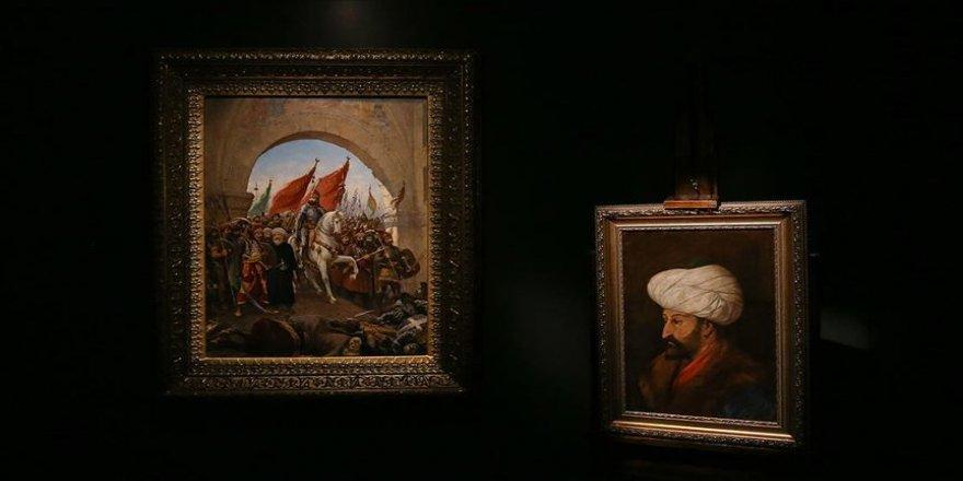 Fatih Sultan Mehmet'in, 20. yüzyılda yapılan portresi ilk kez sergilenecek
