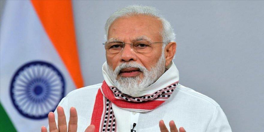 Hindistan Başbakanı Modi: Çin birlikleri Hindistan topraklarına girmedi