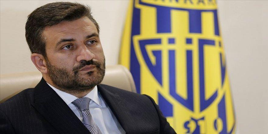 MKE Ankaragücü Başkanı Fatih Mert: Maçın kaderiyle oynanan kararlar verildi