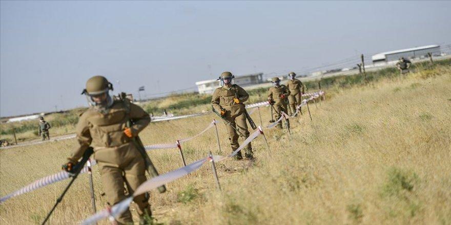 Türk Silahlı Kuvvetlerinin 'mayın avcıları'ndan kritik alanlarda cansiparane görev