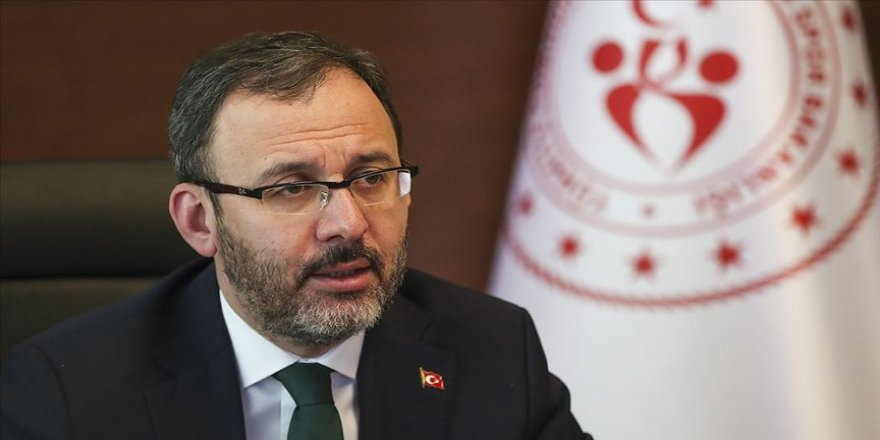 Bakan Kasapoğlu'ndan Akhisarspor'a 'geçmiş olsun' mesajı