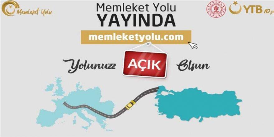 YTB'den kara yoluyla Türkiye'ye gelecekler için 'Memleket Yolu' internet sitesi