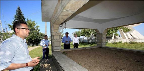 Başkanlardan Gazi Akçakoca'ya dua