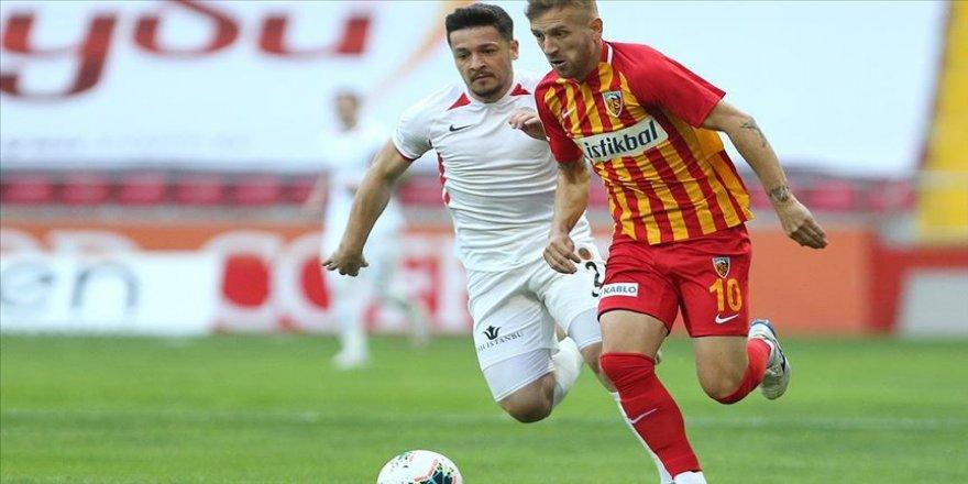Hes Kablo Kayserispor sahasında Gençlerbirliği'ni 2-0 yendi