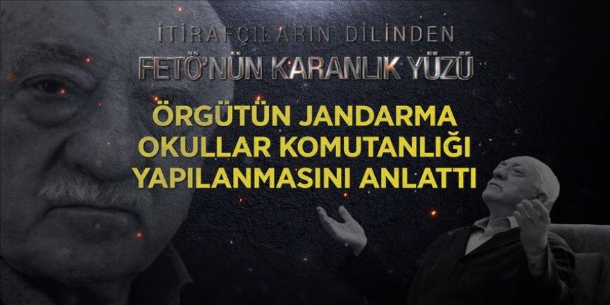 FETÖ itirafçısı örgütün Jandarma Okullar Komutanlığı yapılanmasını anlattı