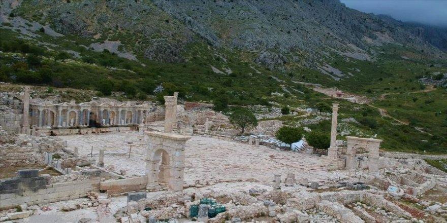 'Aşkların şehri' Sagalassos ziyaretçilerine kavuştu