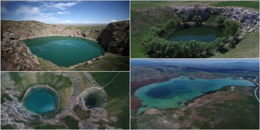 Sivas'ın gölleri keşfedilmeyi bekliyor