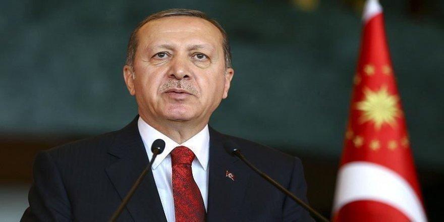 Cumhurbaşkanı Erdoğan, Zonguldak'ın kurtuluş yıl dönümünü kutladı