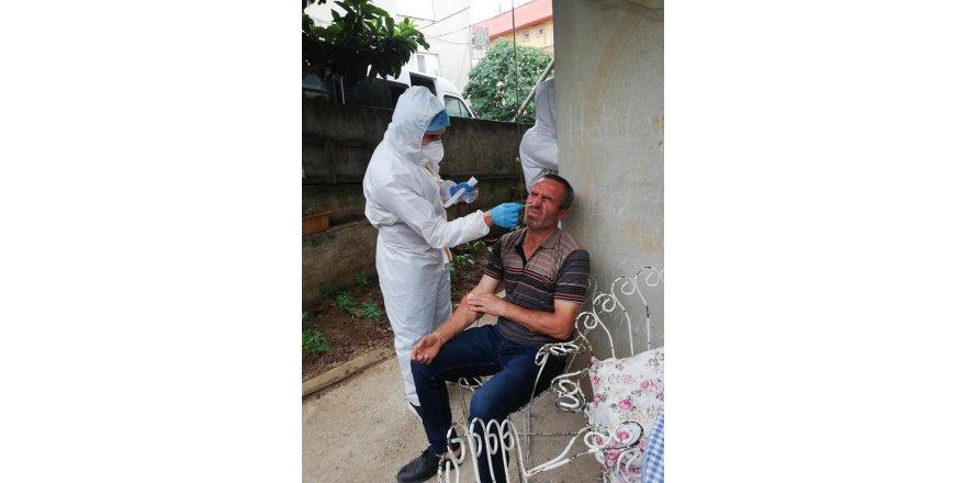 Darıca'da 439 kişiye antikor testi yapıldı
