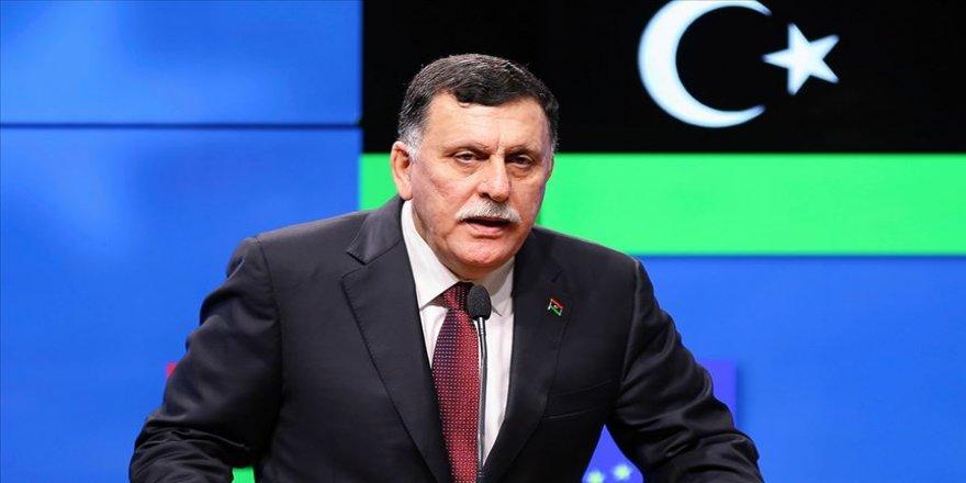 Libya Başbakanı Serrac, Sisi'nin açıklamalarının ardından Sirte-Cufra Ortak Operasyon komutanıyla görüştü
