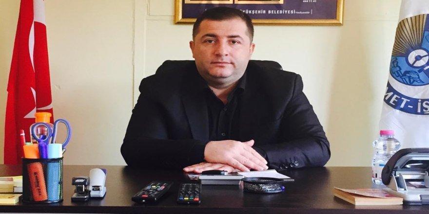 Hizmet-İş Sendikası,YAMAN'ın acılı ailesine 50.000-TL (Ellibin) teslim etti