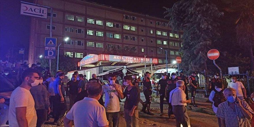 İstanbul Eğitim ve Araştırma Hastanesi'nde çıkan yangın söndürüldü