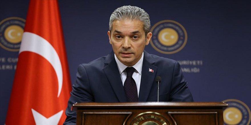 Dışişleri Sözcüsü Aksoy'dan Europol raporundaki PKK atıflarına ilişkin açıklama