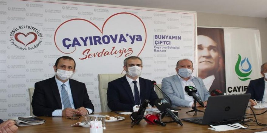 Çayırova Belediye Başkanı Bünyamin Çiftçi,basına görevdeki bir yılını değerlendirdi.