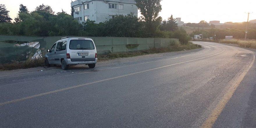 Gebze Balçık'ta kaza !