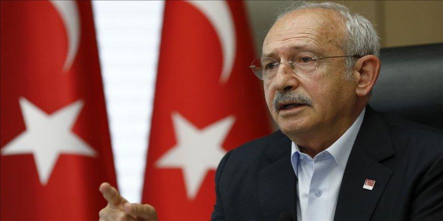 CHP Genel Başkanı Kılıçdaroğlu: Kurultayımızla eleştiriden çok bir ufuk çizmeyi düşünüyoruz