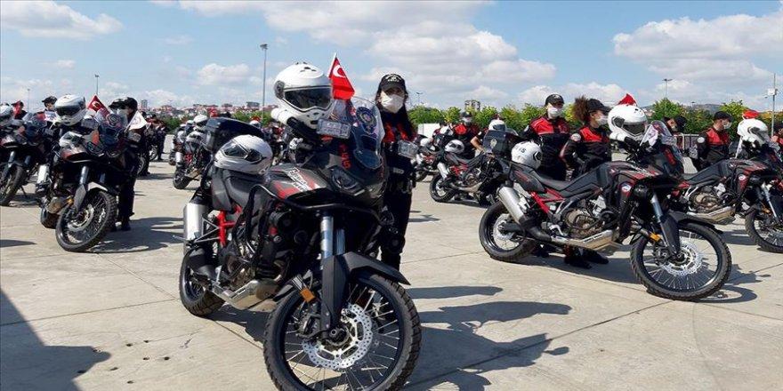 Emniyet Teşkilatına 150 motosiklet alındı