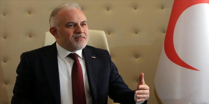 Türk Kızılay Genel Başkanı Kınık: Türkiye'nin kurumları yurt dışına gidince 'Ne verebiliriz' diye düşünüyor