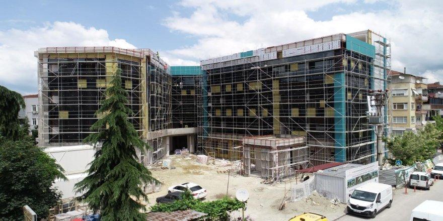 Dev sağlık yatırımları ve Yeni Devlet Hastanesi'nin inşaatı devam ediyor !