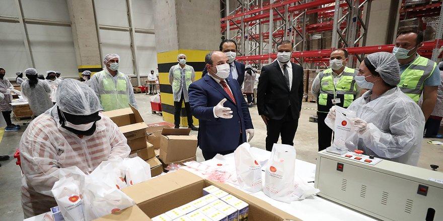 Bakan Varank: 65 yaş üstü için hazırlanan 'hijyen paketleri' 5,5 milyon kişiye ulaştırıldı