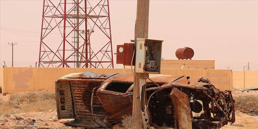 Hafter milisleri Sirte Körfezi'ndeki elektrik santralini talan etti