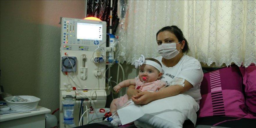 Organ nakli beklerken bebek sahibi oldu