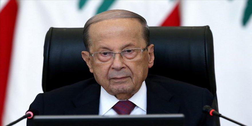 Lübnan Cumhurbaşkanı Avn: Karasularımıza yönelik ihlallere izin vermeyeceğiz
