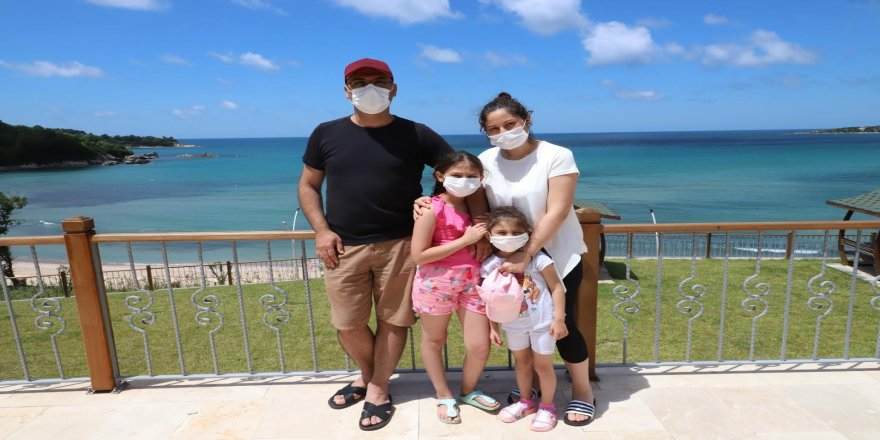 Büyükşehir,Darıca ve Kandıra Gençlik kampları sağlıkçılar için tahsis etti