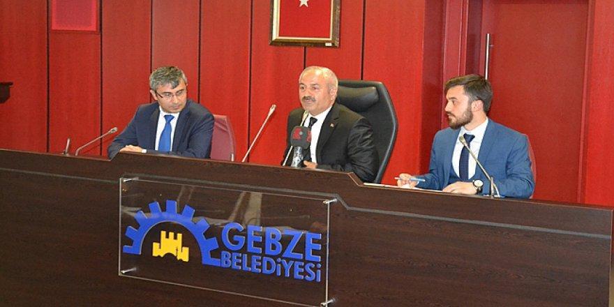 Gebze Belediye Meclisi,Olağanüstü Toplanacak